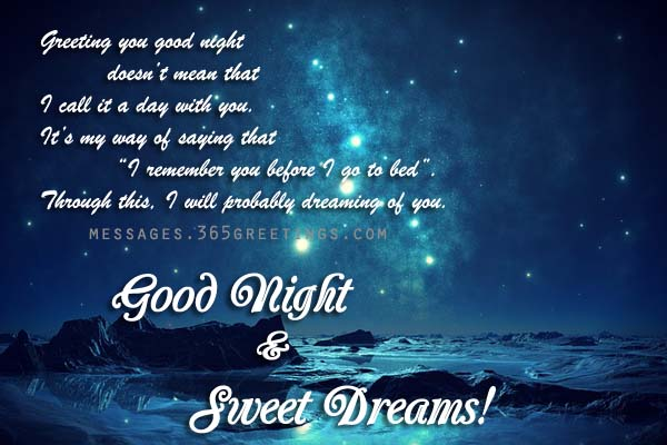 Gud Nite Wallpaper With Quotes Good Night Greeting Card 365greetings Com