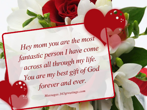 I Love You Mom Messages 365greetingscom