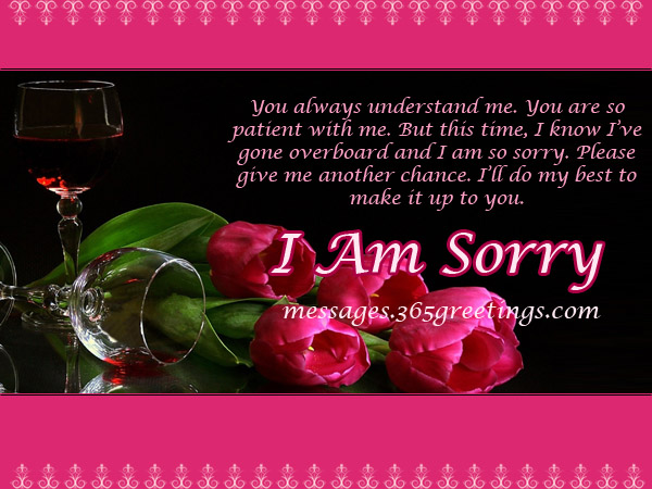 Sorry Messages for Husband - 365greetings - apology card messages