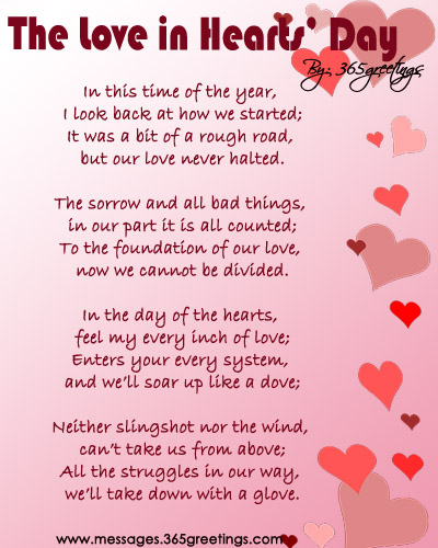 love in hearts day daughter valentine poems