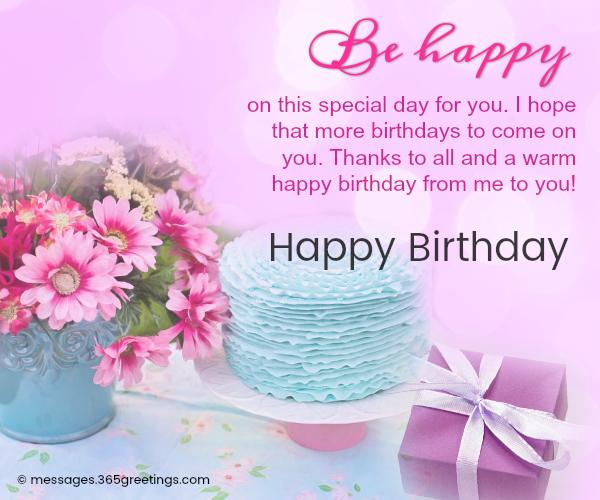 Happy Birthday Wishes and Messages - 365greetings