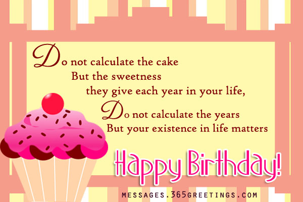 Inspirational Birthday Messages - 365greetings