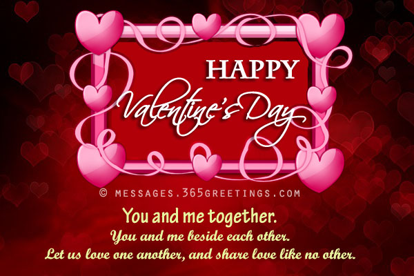 Valentines Day Messages Wishes and Valentines Day Quotes - valentines cards words