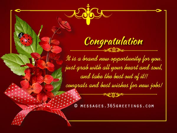 Congratulation Messages - 365greetings