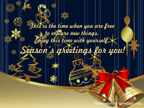 Seasons Greetings Messages - 365greetings