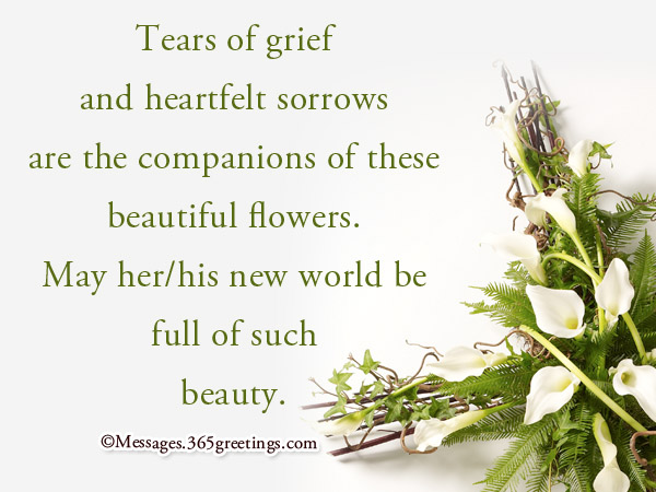 Funeral Sympathy Messages Archives - 365greetings - funeral words for cards