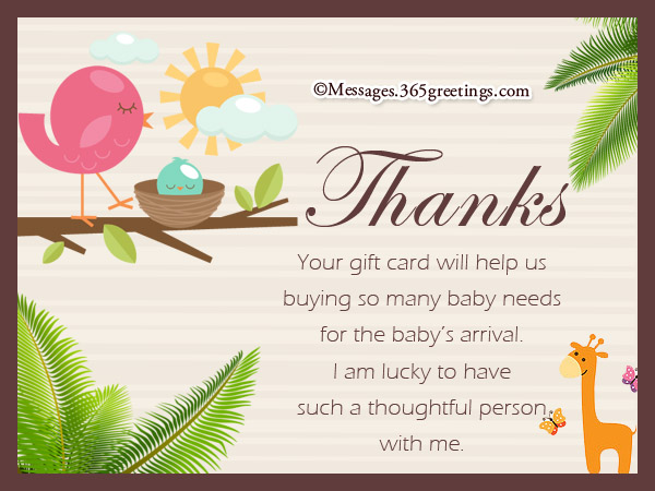 Baby Shower Thank You Notes Chic Photo Card Designs Personalized - baby shower thank you notes