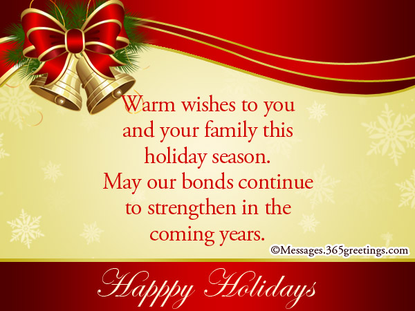 christmas wishes email template