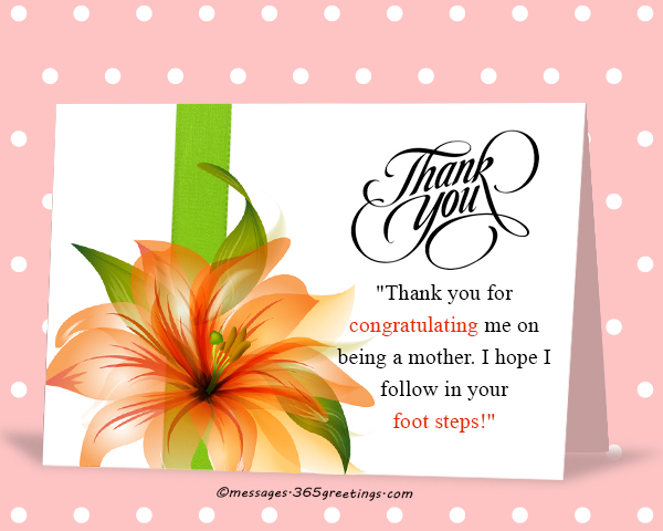 Thank You Messages for the Congratulations - 365greetings - congratulations for or on