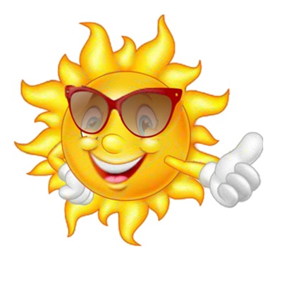 Sun Stickers for iOS Messages
