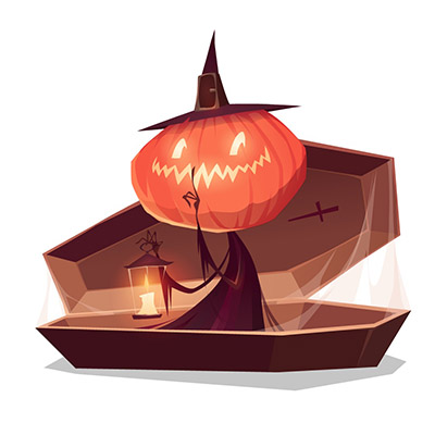 trick or treat free stickers for iOS messages