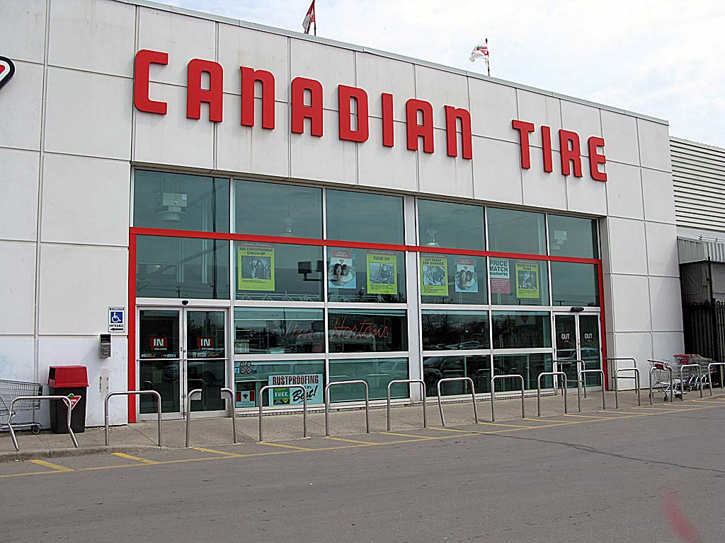 Canadian Stores Canadian Tire They Should Call It Canadian Everything