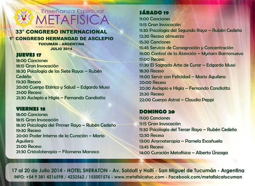 Congreso Tucuman Agosto