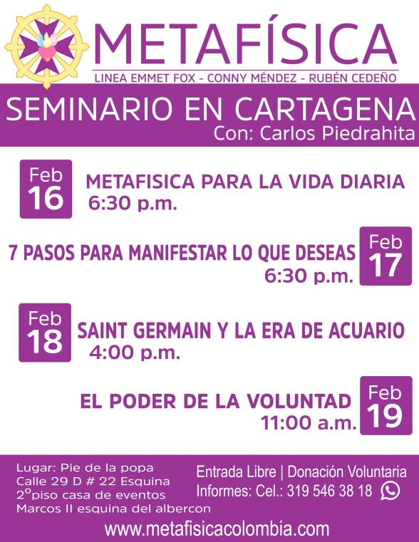 Metafisica Cartagena