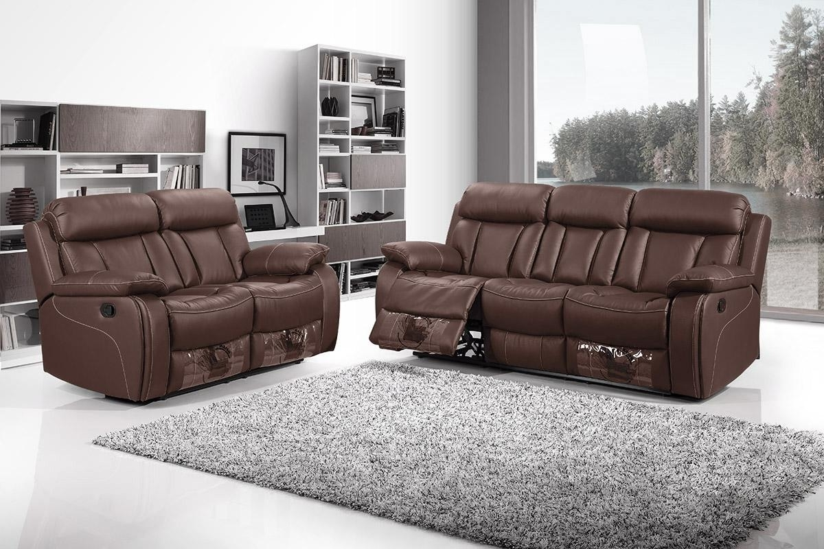 Sofa Recliner Leather | Leather Sofa And Recliner Leather Reclining ...