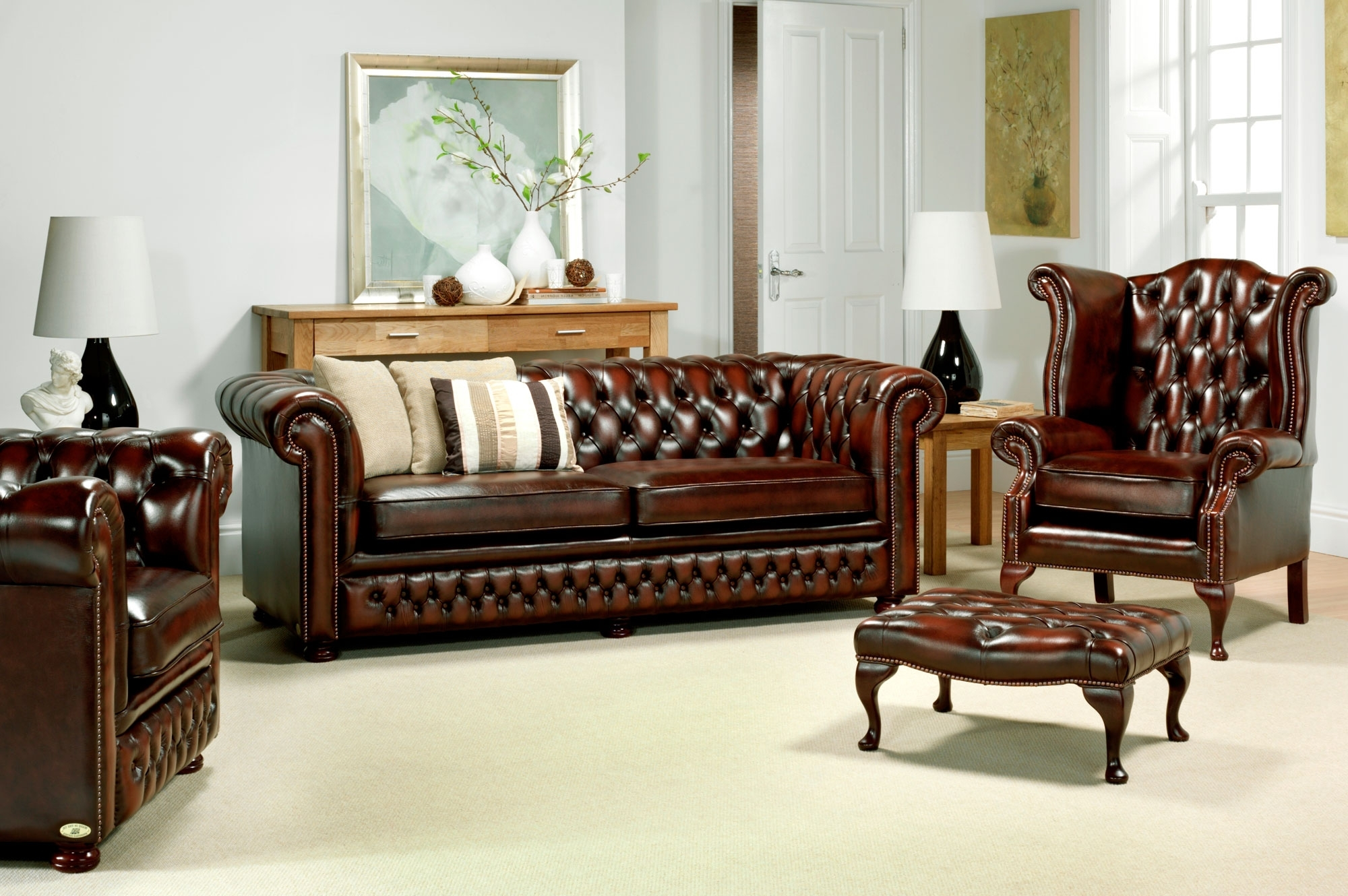 Chesterfield Sofa And Chair Top 20 Of Chesterfield Sofas And Chairs
