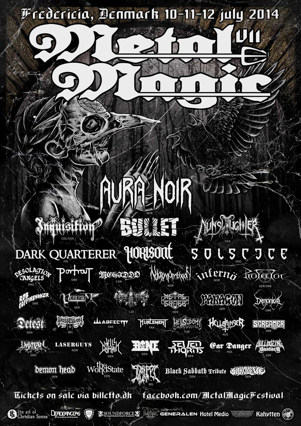 Poster Aus Metall Metal Magic Festival Flyers And Posters