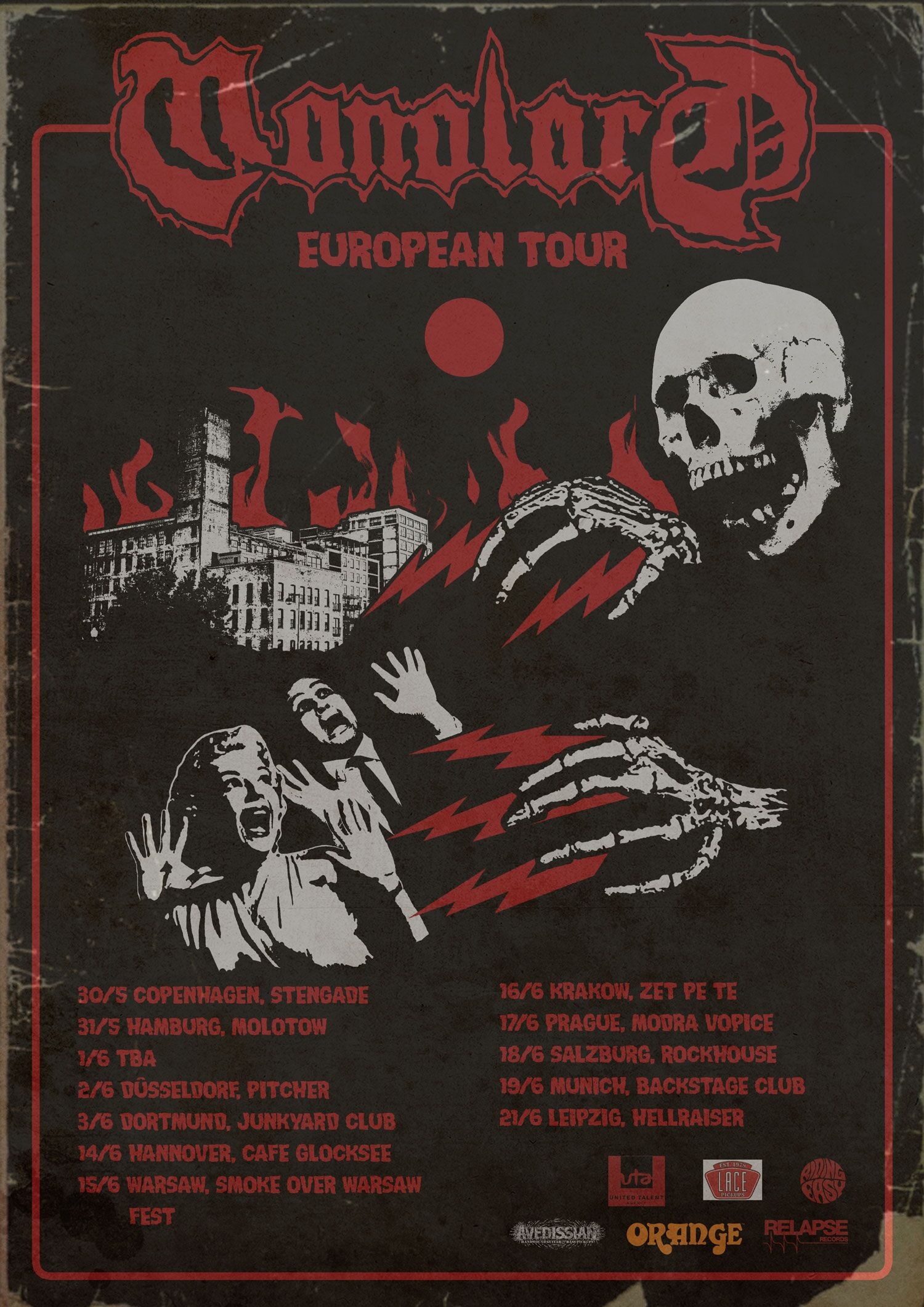 Cafe Y Arte Boutique La Colmena Monolord Announce European Dates For May And June Metalcry