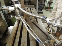 seat stay mitering