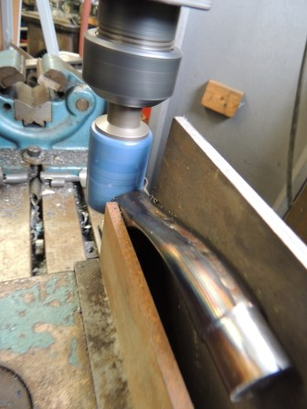 mitering chain stay yoke