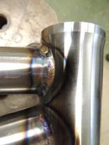 Sean's head tube welds