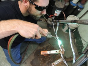 Sean brazing cable guides 2