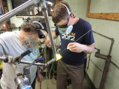 Rob fillet brazing head tube 2