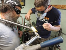 Rob fillet brazing head tube 3