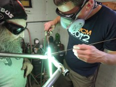 Rob fillet brazing head tube 4