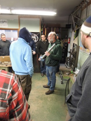 Frank discusses tubing preparation