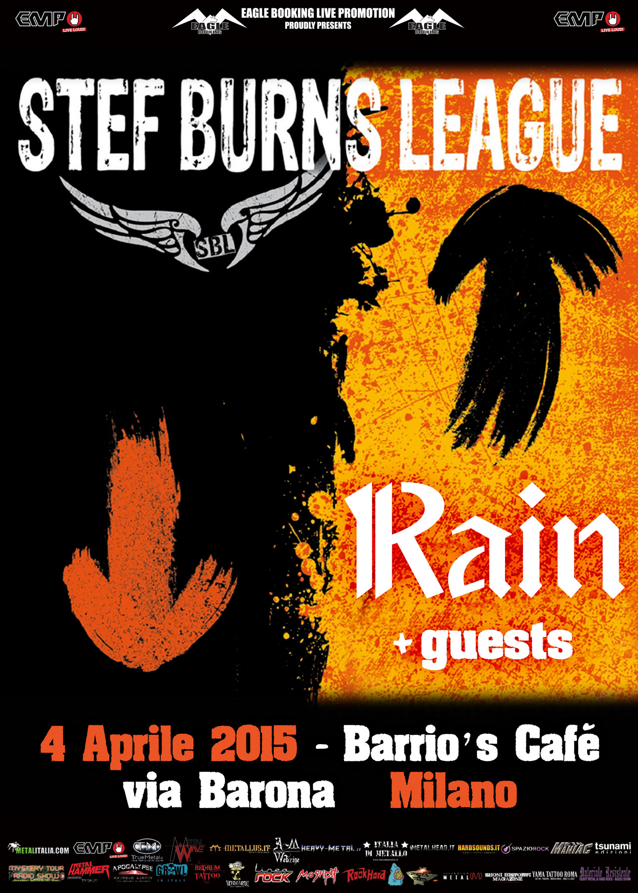 Vasco Live Kom 2015 Date Stef Burns Data Live Al Barrios Di Milano