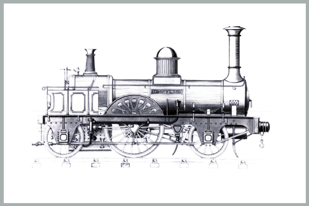 how a locomotive works a train