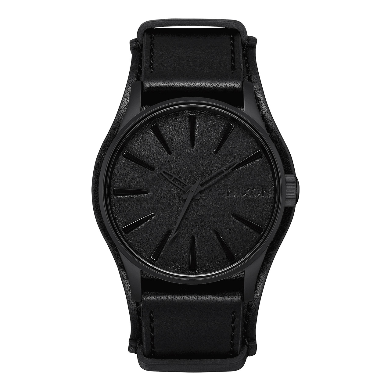 Nixon Watches Sentry Leather