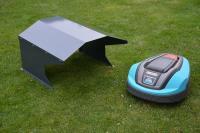 Mhroboter Garage aus Metall fr Ihren Garten