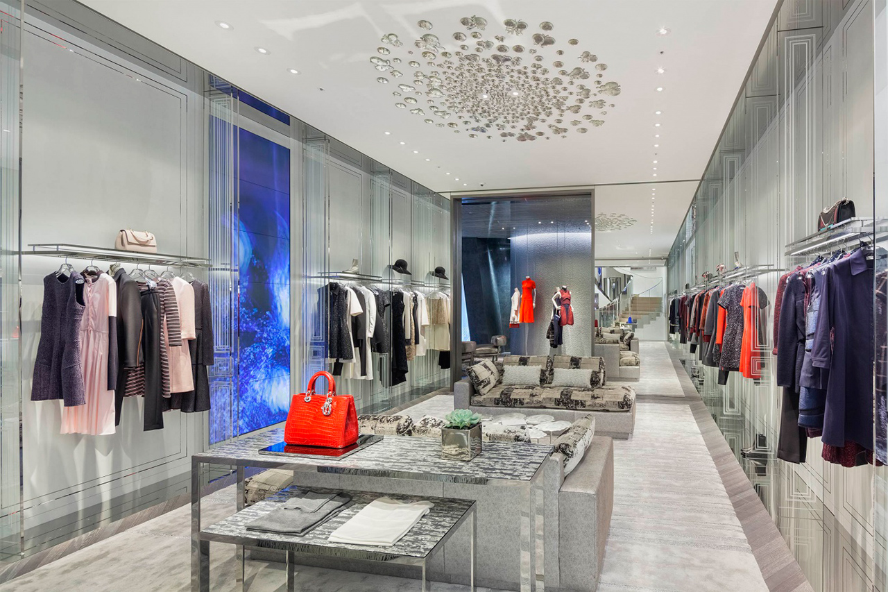 Store Banne Boutique The House Of Dior In Seoul By Christian De Portzamparc