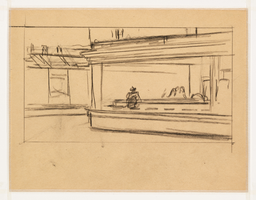 La Chambre A New York Edward Hopper Hopper Drawing En El Museo Whitney Metalocus