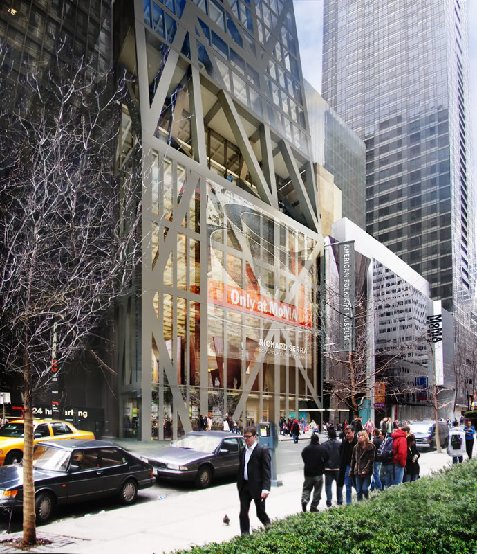 Moma Museum New Renderings For Jean Nouvel's Moma Tower | Metalocus