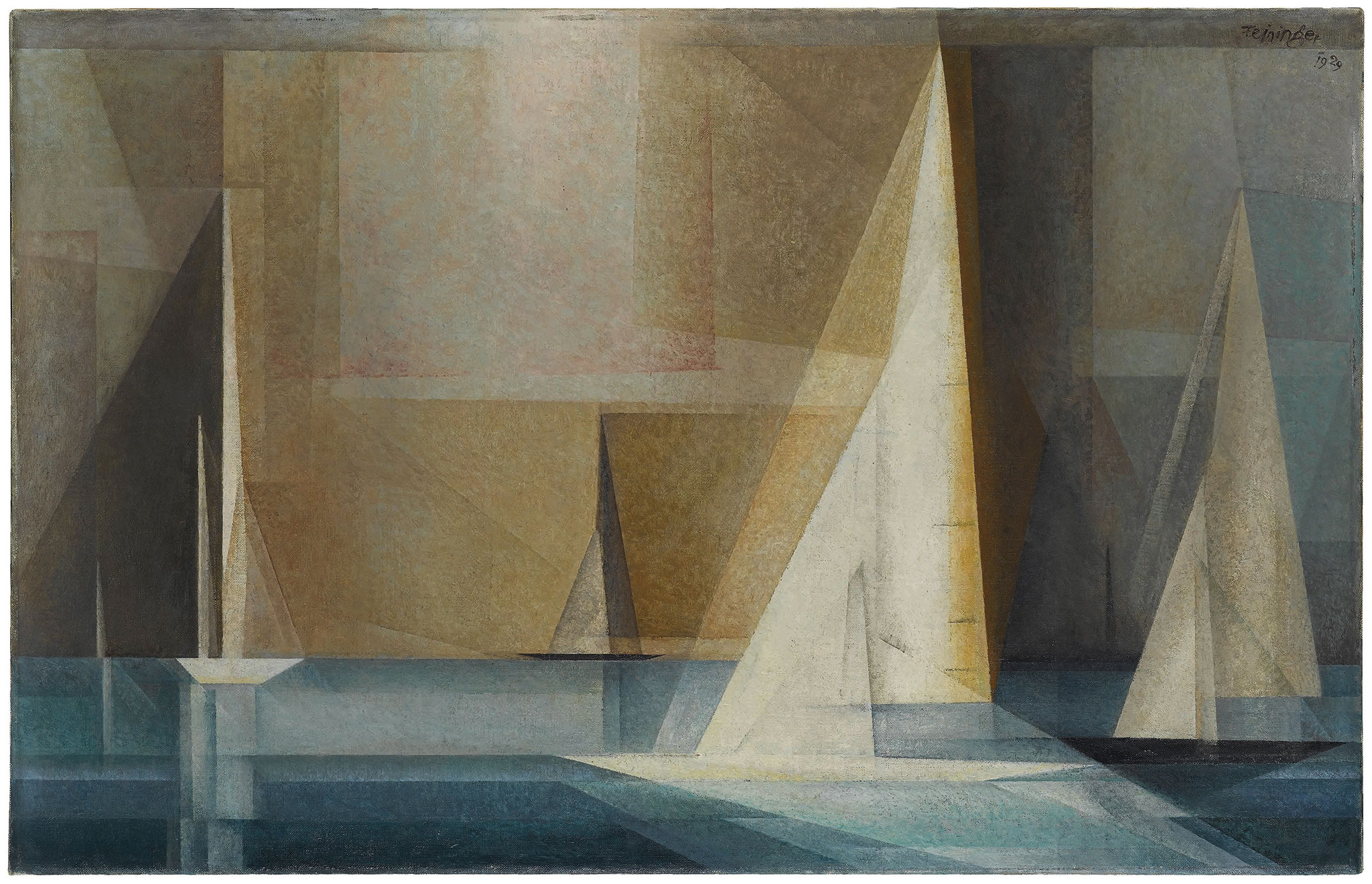 Design Studio Stuttgart Lyonel Feininger (1871-1956). Bauhaus, Drawing And
