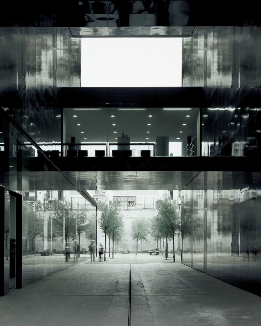 Van Der Rohe Homage To Rcr Arquitectes In The Mies Van Der Rohe Pavilion In