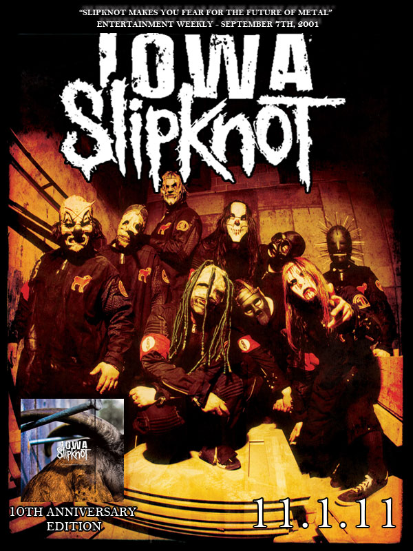 Fall Path Wallpaper Slipknot Iowa 10th Anniversary Edition Releases