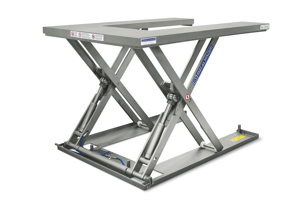 Ms Metalsystem Sl Low Profile Lift Tables