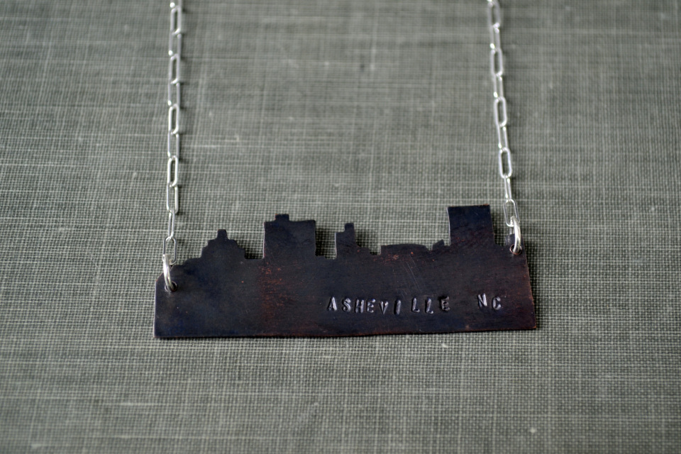 Wholesale Jewelry Raleigh Nc Asheville Skyline Necklace