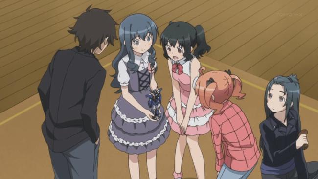 Saori gets admired