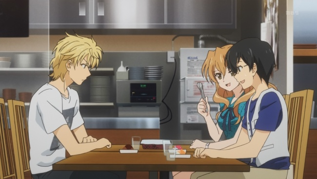 Golden Time-spoon misdirect