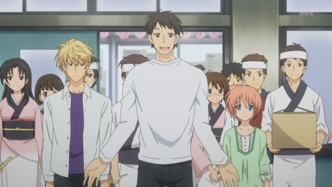Golden Time-Everyone helps out