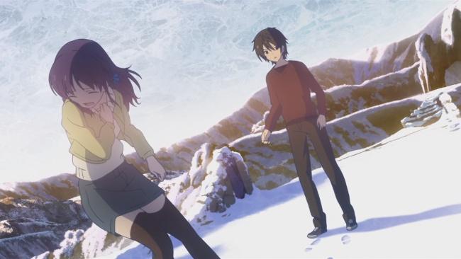 Nagi no Asukara-Running away