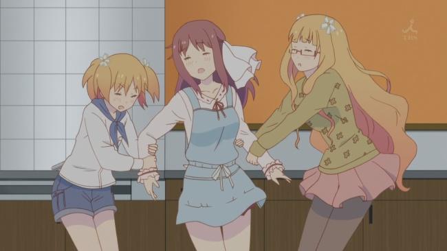 Sakura Trick-Haruka is torn