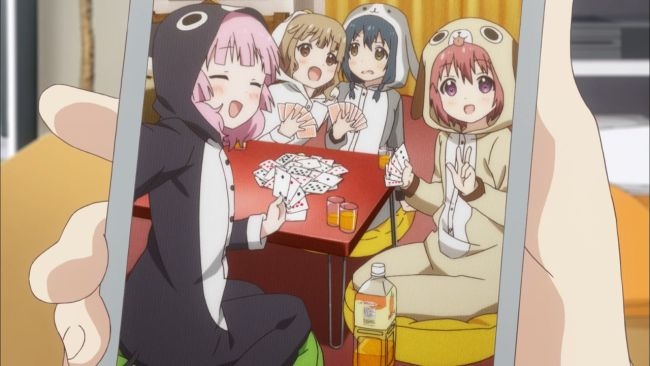 Yuru Yuri - The return of pajamas