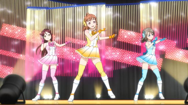 Love Live Sunshine - It's not unusual to have dance moves like this