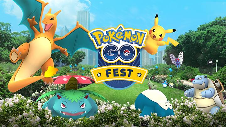 Pokémon Go : Event Fest pour le premier anniversaire du jeu